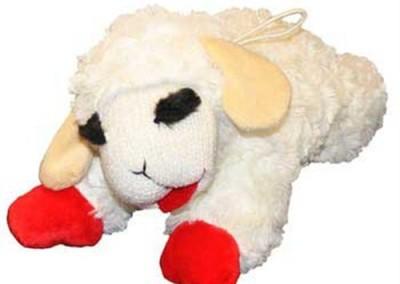 14 inch L - Lambchop Squeaker - $15