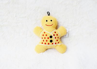 7 inch - Gingerbread Man Squeaky - $6