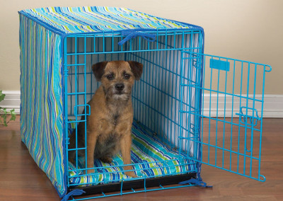 Blue Crate cover & Bed