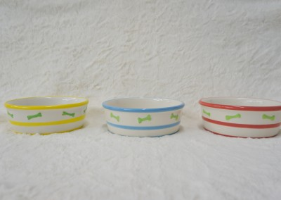 Ceramic Bowls - 3 sizes - Colors Available - Watermelon, Blueberry and Lemon