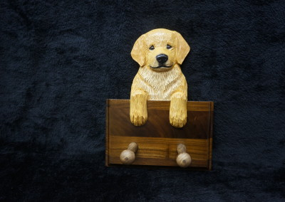 $59.00 - Golden Puppy Leash Hanger