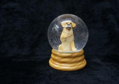 $99.00 - Golden Snow Globe