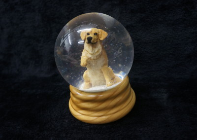 $99.00 - Golden Snow Globe