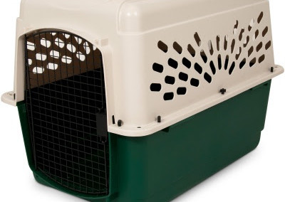 Vari Kennel Crate Beige/Green 36""